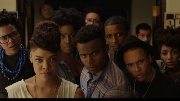 "Dear White PeopleIMDb: 6.5/10Review by the New York Times: 'Dear White People' does some schoolingFour-and-a-half stars""Dear White People"" is the name of Houston native Justin Simien's first feature film, and I'll say right away that it is as smart and fearless a debut as I have seen from an American filmmaker in quite some time: knowing but not snarky, self-aware but not solipsistic, open to influence and confident in its own originality. It's a clever campus comedy that juggles a handful of hot potatoes - race, sex, privilege, power - with elegant agility and only an occasional fumble. You want to see this movie, and you will want to talk about it afterward, even if the conversation feels a little awkward. If it doesn't, you're doing it wrong. There is great enjoyment to be found here, and very little comfort. Photo: Courtesy Roadside Attractions"