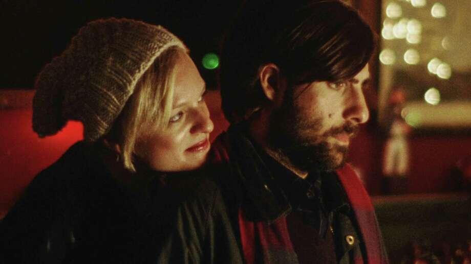 Elisabeth Moss and Jason Schwartzman in Listen Up Philip Photo: --