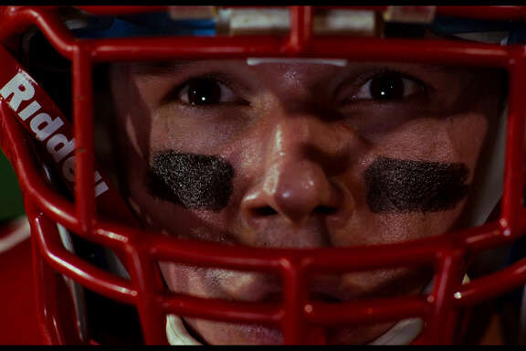 "Football star Travis (Mark Hapka) loses his sight to an infection in ""23 Blast."""