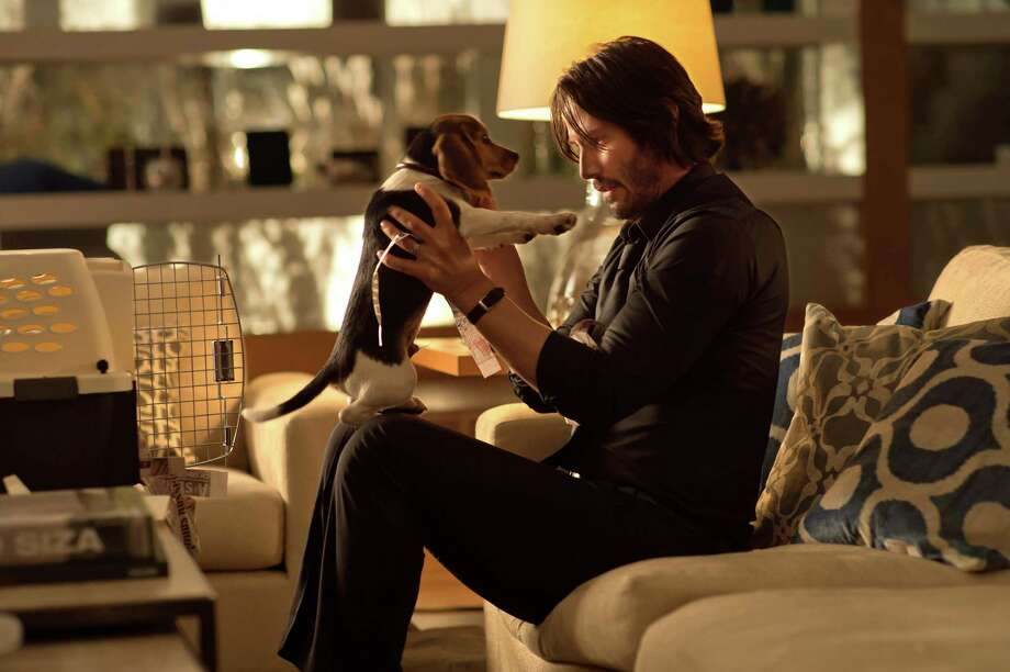 """This photo released by Lionsgate shows Keanu Reeves as John Wick in a scene from the film, """"John Wick.""""  (AP Photo/Lionsgate, David Lee) Photo: David Lee, HONS / Lionsgate"""