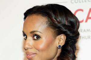 "Kerry Washington  ""Kerry's hair is really gorgeous, and I love that it plays with two different textures,"" says celebrity hairstylist  Larry Sims . ""To get her look, part hair over your left or right eyebrow and roll hair along the hairline, upwards, until it reaches your neck. Take the remainder and fishtail braid it to one side, leaving it a little loose and natural.""      10 Drugstore Beauty Classics You Should Absolutely Own   15 Non-Awkward Ways to Grow Out Your Short Haircut   10 Sneaky Sources of Sugar to Avoid   9 Decorating Hacks From Top Design Gurus   The New, Grownup Way to Pack Your Lunch   9 Things You Don't Need to Tell Him the Truth About"