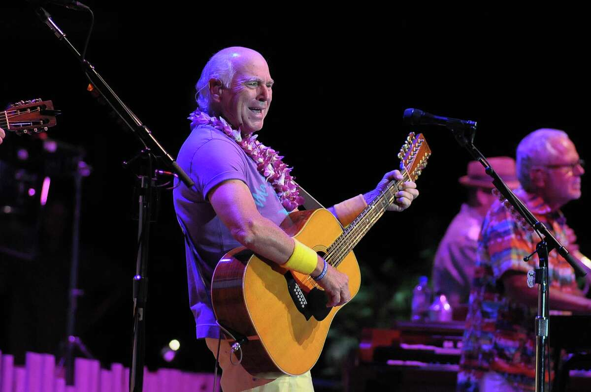 Jimmy Buffett holds the record for highest box office receipts at the Cynthia Woods Mitchell Pavilion in The Woodlands. His May 29, 2014, performance was his 19th at the pavilion.