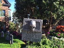 Lost Souls Cemetery, open for applicants through Halloween.  The Chronicle/Sam Whiting