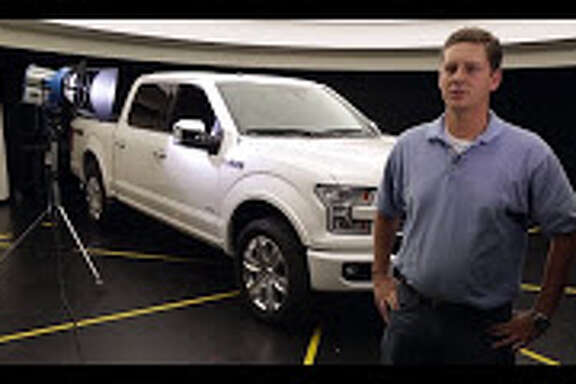 Cary Diehls, an ergonomics engineer at Ford, got feedback from Texans when working on the 2015 F-150 dashboard. Consumer clinics were held in Houston between 2011 and 2013.