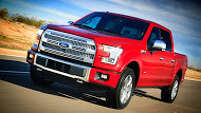 "The 2015 ""next generation"" Ford F-150 is expected to arrive in showrooms at the end of the year."