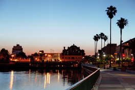 No. 8 (Tie): Stockton, California. Here, 8.3 percent of workers are self-employed, according to Economic Modeling Specialists, Intl.