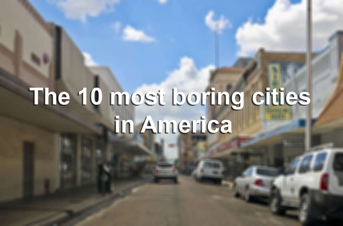 Take a look at the nation's 10 most boring cities, and keep clicking to see America's best places to live.