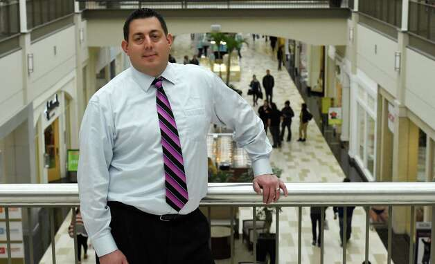 Mike Patounas, general manager of Crossgates Mall, Thursday afternoon, Oct. 23, 2014, at Crossgates Mall in Guilderland, N.Y. (Skip Dickstein/Times Union) Photo: SKIP DICKSTEIN