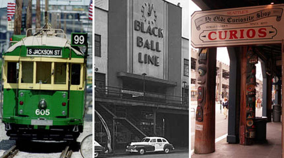 Seattle's waterfront will undergo a huge make-over in a few years, so here's a look at iconic moments in the city's famous district.  Photo: Multiple, P-I File, MOHAI