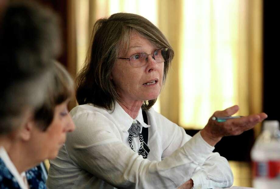 Margaret Day is chairwoman of the Alamo Sierra Club. Photo: Helen L. Montoya / Helen L. Montoya / San Antonio Express-News / ©2014 San Antonio Express-News