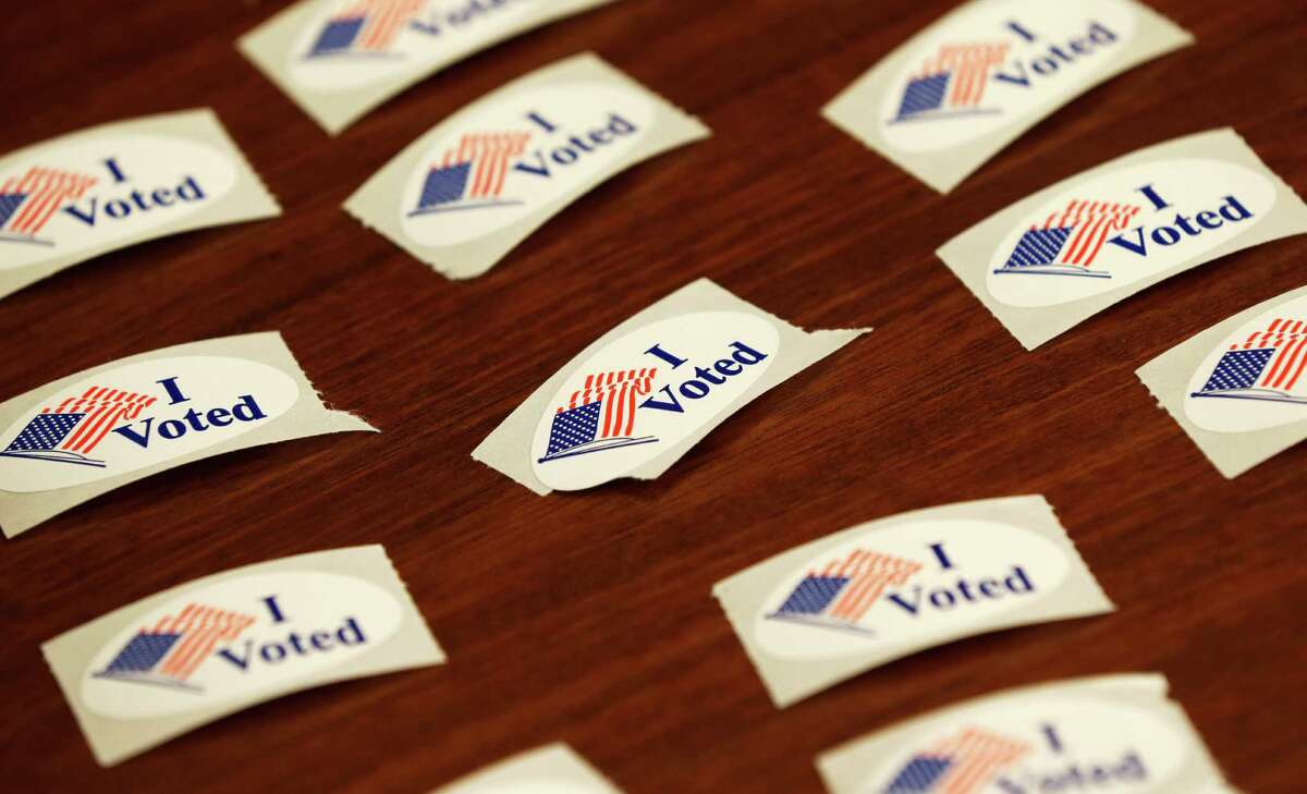 Early voting for the Nov. 4 election continues through Oct. 31. (AP Photo/Charlie Neibergall)