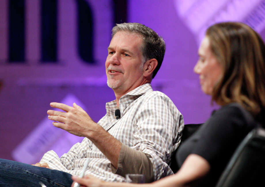 Netflix CEO Reed Hastings has donated $250,000 to support Propositions 1 and 2. Photo: Kimberly White / Getty Images For Vanity Fair / 2014 Getty Images