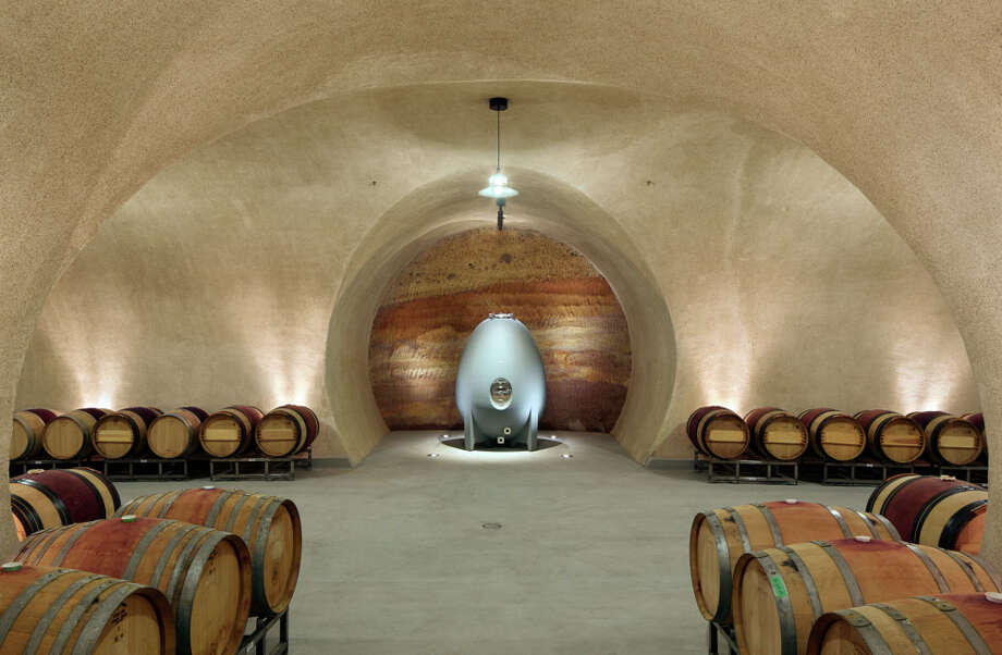 The winery has 12,000 square feet of caves where barrels are aged. Photo: Bruce Damonte / ONLINE_YES