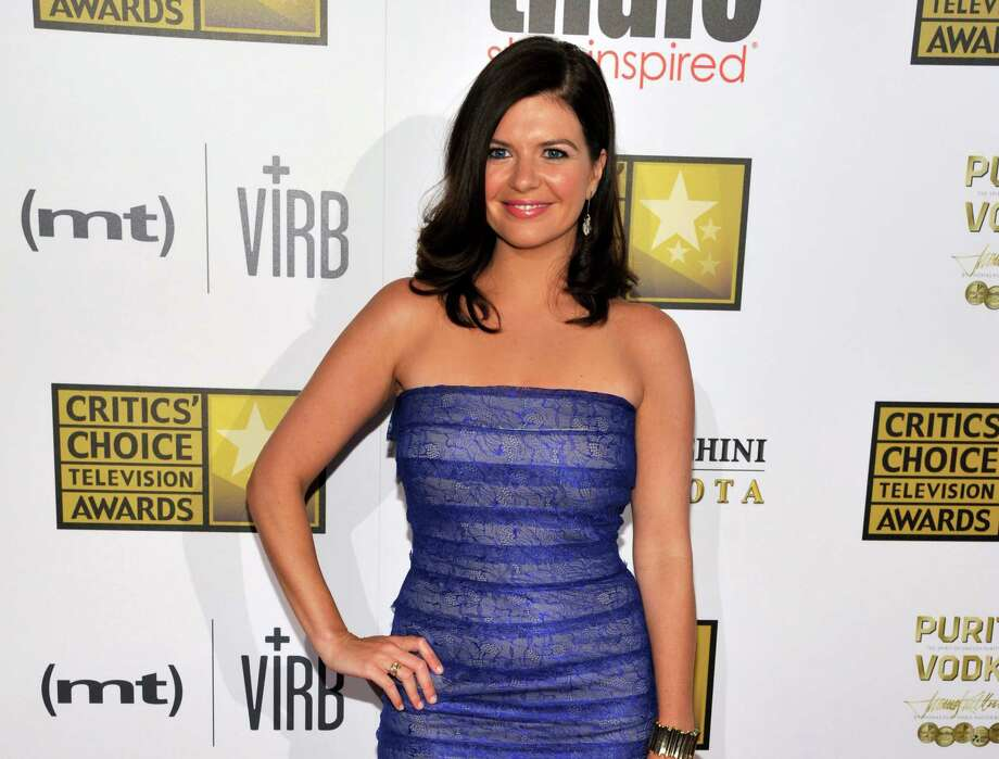 "FILE - This June 10, 2013 file photo shows actress Casey Wilson at the Critics' Choice Television Awards in Beverly Hills, Calif. Wilson and Ken Marino will star as two apparently star-crossed lovers in the NBC comedy ""Marry Me."" (Photo by Chris Pizzello/Invision/AP, FIle) ORG XMIT: NYET330 Photo: Chris Pizzello / Invision"