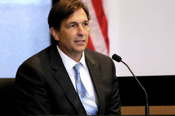 John Goodman testifies on the tenth day of Goodman's retrial Wednesday, October 22, 2014. Goodman is charged with DUI manslaughter in the death of Scott Wilson. (Lannis Waters / The Palm Beach Post)