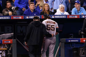 Lincecum feels 'better,' and MRI exam shows no structural damage - Photo