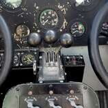 The interior of the 1929 Ford Tri-Motor airplane at West Houston Airport Thursday, Oct. 23, 2014, in Houston. The American three-engined transport aircraft was nicknamed the Tin Goose.