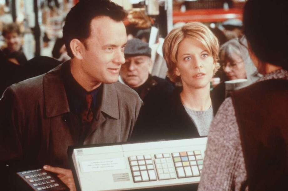 "Tom Hanks and Meg Ryan in ""Sleepless in Seattle."" Photo: Brian Hamill, Warner Bros. C1998"