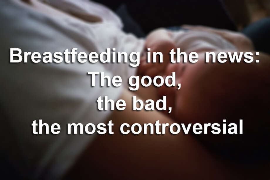 Scroll through to see the most controversial breastfeeding incidents through the years. Photo: File