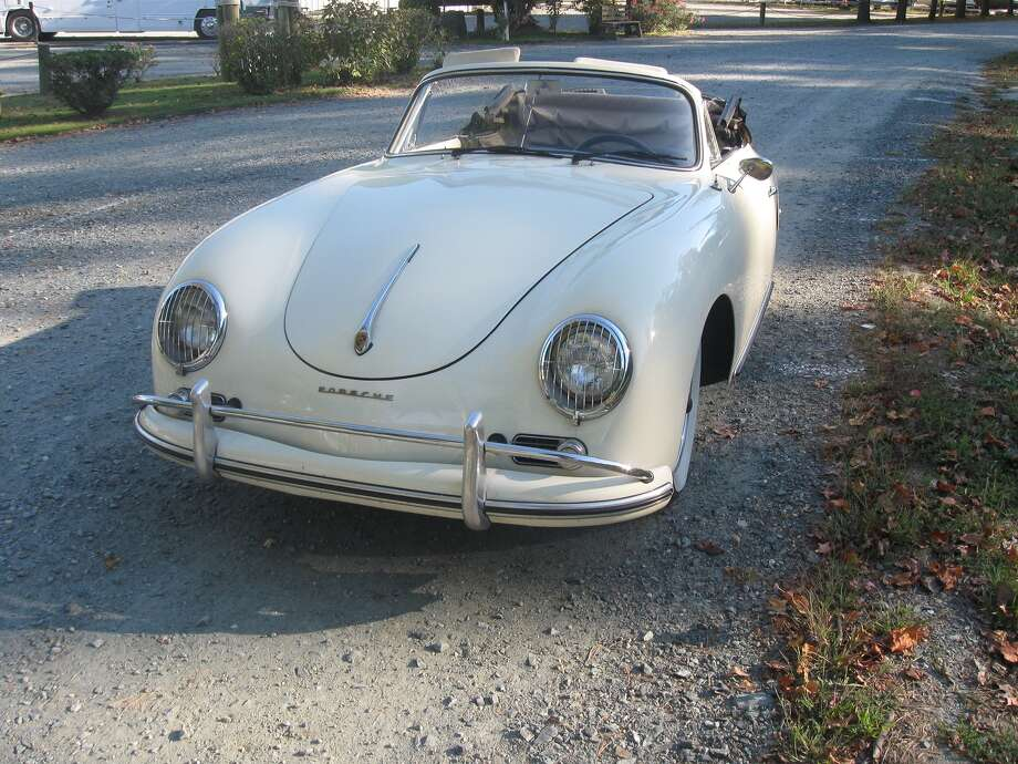 Charles Taylor bought his friend's used 1958 Porsche 356 in 2006 and had it transported  to his Stafford, Virginia, home.