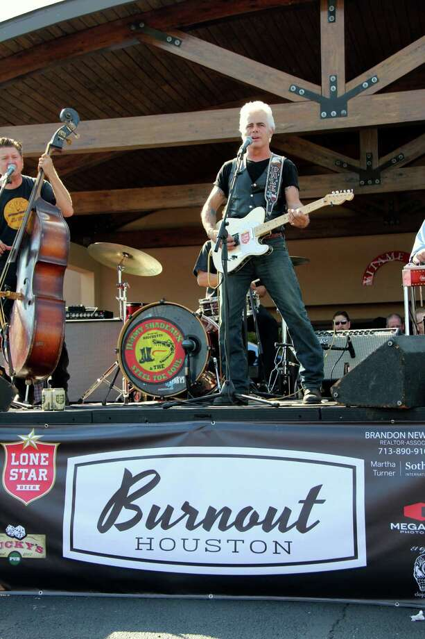 Dale Watson was one of the entertainers at Burnout Houston, held in the Heights over the weekend.