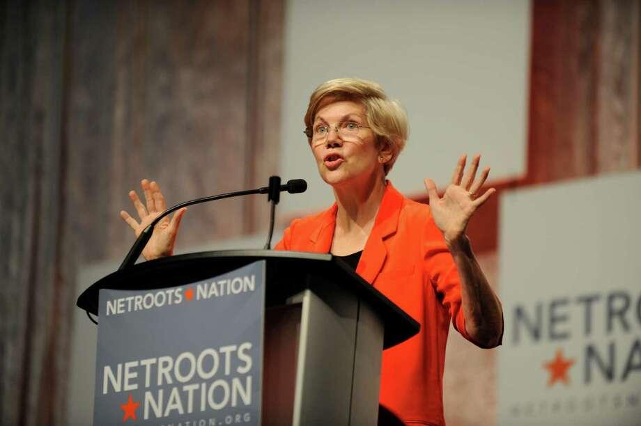 Sen. Elizabeth Warren, D-Mass., has captured the hearts of Democratic activists beginning to think about an heir to President Barack Obama. Photo: David Coates / David Coates / Associated Press / Detroit News