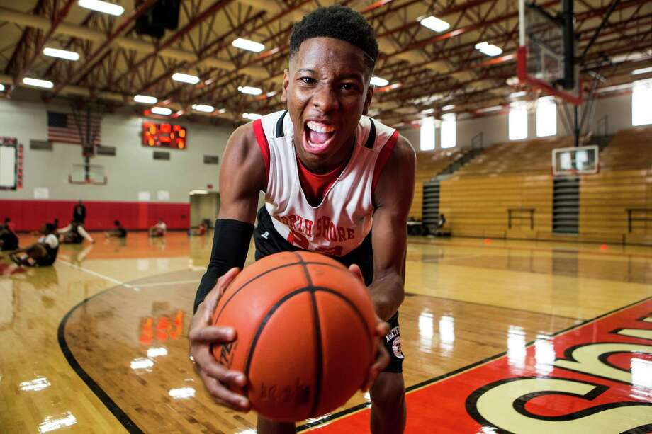 North Shore High School senior guard Kerwin Roach poses for a portrait on Thursday, Oct. 23, 2014, in Houston. Roach is one of the area's top senior basketball players, who led the Mustangs to the Class 5A state championship last year. Photo: Brett Coomer, Houston Chronicle / © 2014 Houston Chronicle