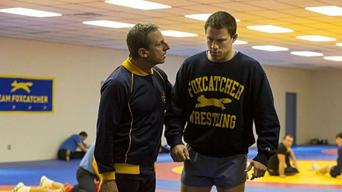 """FOXCATCHER (Nov. 14) - Looking to be the exception to the """"delayed release equals troubled film"""" rule, this Oscar-baiter was original scheduled to come out last December, but now it's already a highly praised and award-winning frontrunner. It has Steve Carell in a said-to-be stunning dramatic turnabout and Channing Tatum and Mark Ruffalo stretching their muscles, both actual and acting, as real-life wrestling brothers. Plus, director Bennett Miller is going after his own three-peat, following """"Capote"""" and """"Moneyball."""""""