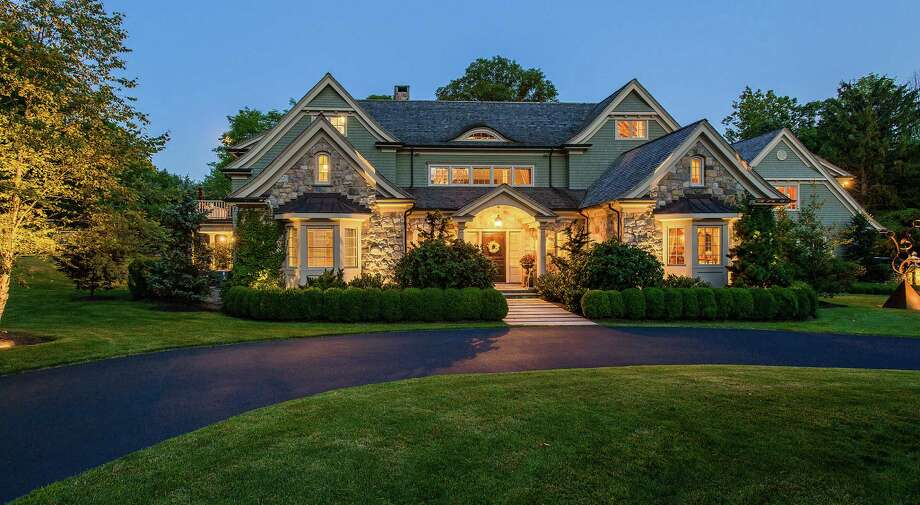 The property at 1 Hubbell Lane is on the market for $4,900,000. Photo: Contributed Photo / Fairfield Citizen