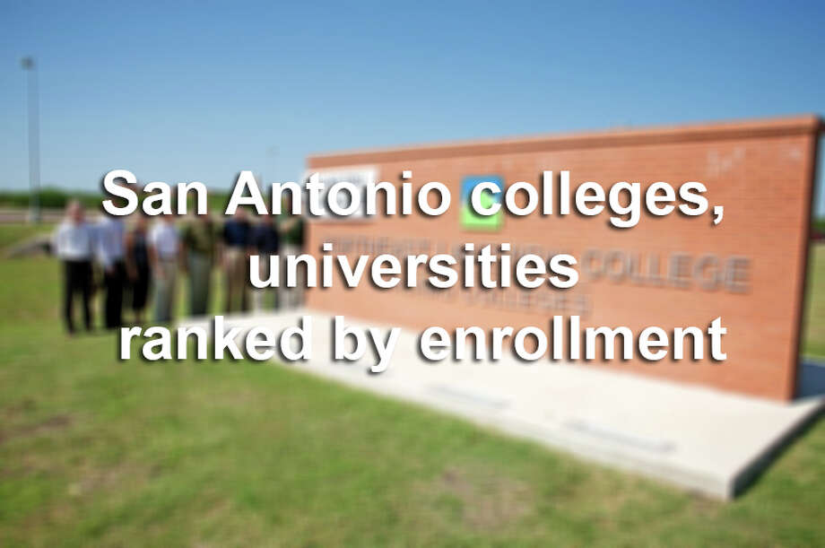Scroll through to see how many students are enrolling in San Antonio colleges and universities. Photo: Kathleen Johnson-Hodge, File