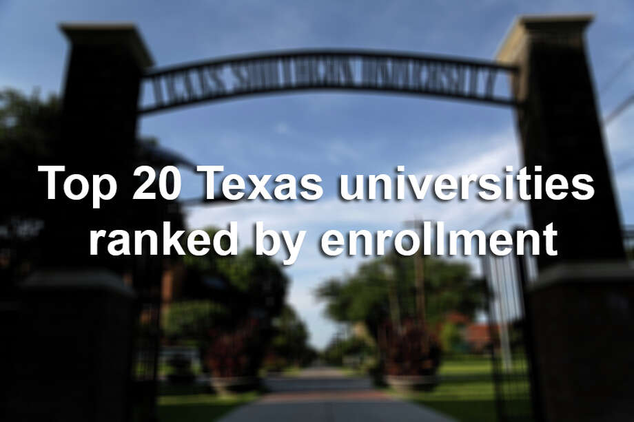 Scroll through to see which Texas universities are attracting the most students. Photo: Gary Coronado, File / © 2014 Houston Chronicle