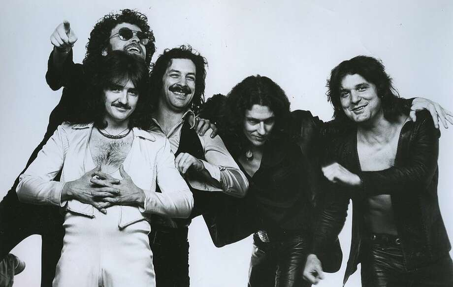 It's the chest hair you should fear: Blue Öyster Cult in 1977.