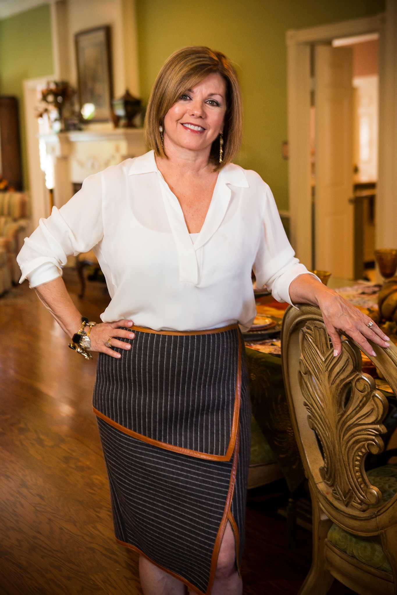 Jenny Senter Small Town Girl Finds Her Niche In Texas City Houston Chronicle