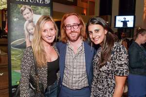 Michelle Masek, Jim Walsh and Julia Vinyard at the 2014 FORTUNE 40 Under 40 release party on October 23, 2014.