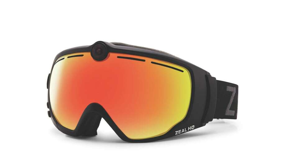 Ski like James Bond with Zeal Optics  subtle HD2 goggle camera. Take footage at the touch of a glove-friendly button and transfer video and stills instantly to Android and iPhone or download to Macs and PCs. Photo: D. Scott Clark / www.dscottclarkphoto.com