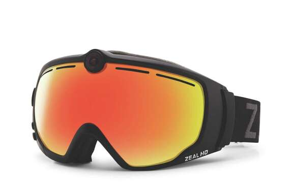 Ski like James Bond with Zeal Optics  subtle HD2 goggle camera. Take footage at the touch of a glove-friendly button and transfer video and stills instantly to Android and iPhone or download to Macs and PCs.