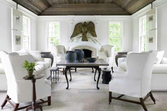 "A room from Atlanta designer Nancy Braithwaite's new book, ""Simplicity."""