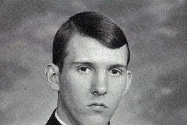 Spurs coach Gregg Popovich from his Air Force Academy yearbook