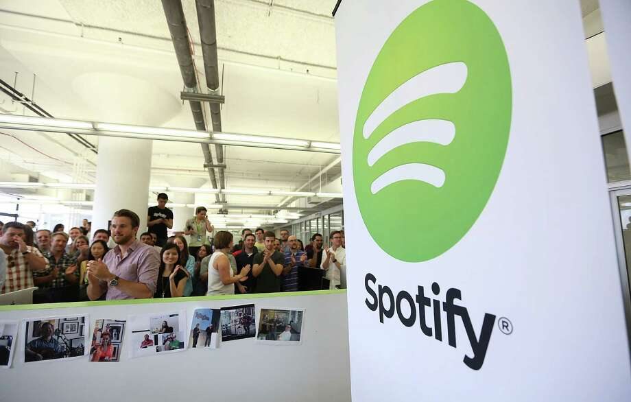 "Spotify announced that it has removed a number of bands identified as ""hate music"" from its catalog Wednesday. Photo: Mario Tama / Getty Images File Photo / 2013 Getty Images"