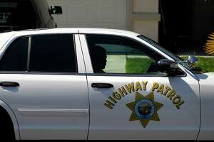 Gunfire hits CHP cruiser on Highway 101 - Photo