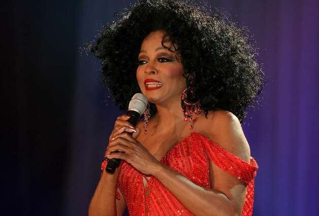 "LONDON - MAY 09:  Singer Diana Ross performs at Wembley Arena as part of her UK tour to promote her latest album ""I Love You"" on May 9, 2007 in London, England. (Photo by Jo Hale/Getty Images)  *** Local Caption *** Diana Ross Photo: Jo Hale, Getty Images / 2007 Getty Images"