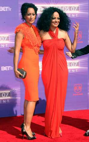 LOS ANGELES, CA - JUNE 26:  Lifetime Achievement Award honoree singer Diana Ross (R) and daughter actress Tracee Ellis Ross arrive at the 2007 BET Awards held at the Shrine Auditorium on June 26, 2007 in Los Angeles, California.  (Photo by Frederick M. Brown/Getty Images)  *** Local Caption *** Tracee Ellis Ross;Diana Ross Photo: Frederick M. Brown, Getty Images / 2007 Getty Images