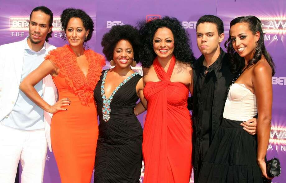 In 1988, Evan Ross (second from right), the son of popular singer Diana Ross, was born in Greenwich. He is an actor and musician most known for his performances in 'ATL' and the TV series '90210.' Photo: Frederick M. Brown, Getty Images / 2007 Getty Images