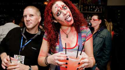 Downtown Bridgeport's annual Halloween pub crawl was held on October 24, 2014. Attendees enjoyed drink specials, hayrides and costume prizes. Were you SEEN?