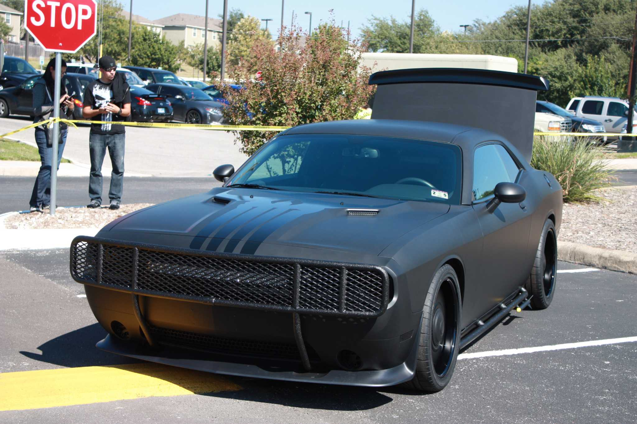 Punisher Themed Dodge Challenger Customized By Tim Duncan S Shop Signed By Stan Lee Can Be Yours