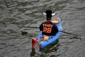Outdoors notebook: Tip for kayaking in McCovey Cove - Photo