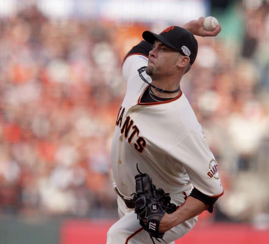 Ryan Vogelsong was 8-13 for the Giants last season. Photo: Michael Macor / Michael Macor / The Chronicle 2014 / ONLINE_YES