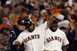 Giants beat: Keen eye key to Sandoval's postseason hit streak - Photo