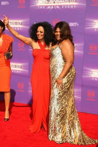 LOS ANGELES, CA - JUNE 26:  Singer Diana Ross (L) and actress Mo'Nique arrive at the 2007 BET Awards held at the Shrine Auditorium on June 26, 2007 in Los Angeles, California.  (Photo by Frederick M. Brown/Getty Images)  *** Local Caption *** Diana Ross;Mo'Nique Photo: Frederick M. Brown, Getty Images / 2007 Getty Images