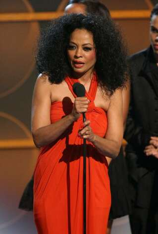 LOS ANGELES, CA - JUNE 26:  Singer Diana Ross accepts the Lifetim Achievement Award onstage during the 2007 BET Awards held at the Shrine Auditorium on June 26, 2007 in Los Angeles, California.  (Photo by Getty Images/Getty Images)  *** Local Caption *** Diana Ross Photo: Getty Images / 2007 Getty Images